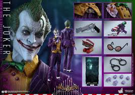 batman arkham city halloween costumes batman arkham asylum the joker 1 6 scale figure the toyark news