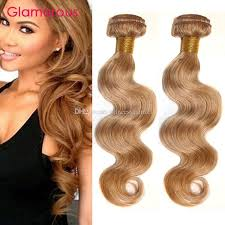 glamorous hair extensions glamorous 27 light brown hair weaves 2 bundles wave