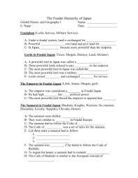 feudalism worksheet worksheets releaseboard free printable