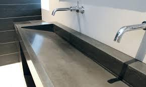 comptoir ciment cuisine pur beton créations moulées sur mesure en béton comptoirs