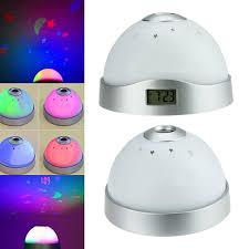 light projection alarm clock 2018 magic starry star sky digital led projector projection alarm