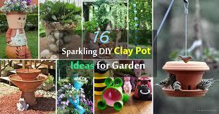 Pot Garden Ideas 16 Sparkling Diy Clay Pot Ideas For Garden Balcony Garden Web