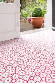 Checkerboard Vinyl Floor Tiles by New Red Vinyl Flooring Kitchen Taste