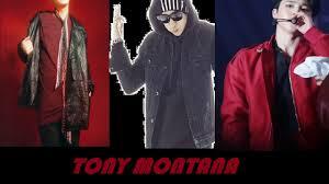 Tony Montana Halloween Costume Agust Tony Montana Ft Jimin Yankie Lyric