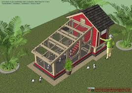 home garden plans s110 chicken coop plans construction