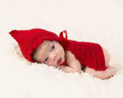 little red riding hood cape halloween costume for newborn baby