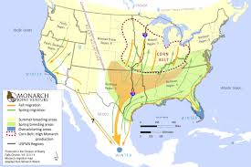Map Of Florida Highways by Can The Monarch Highway Help Save A Butterfly Under Siege Yale E360