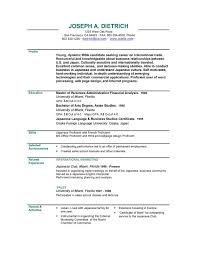 Examples Of Online Resumes by Newest Resume Format Combination Resume Sample Examples Of