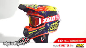 troy lee designs motocross helmets troy lee designs se4 composite team edition youtube