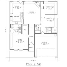 four bedroom ranch house plans house plan 1502 webfloorplans com