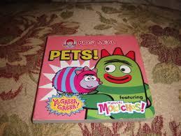 free yo gabba gabba wendy u0027s kids meal book children u0027s books