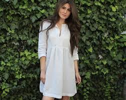 linen white dress plus size linen linen dress linen tunic