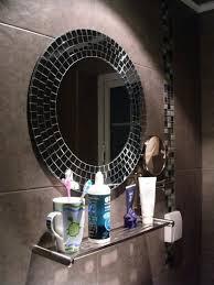 how to decorate bathroom mirror unique mosaic bathroom mirrors digihome mirror pinterest of decor