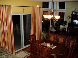 Dining Curtains Decorating Appealing Grommet Curtains With Classic Chandelier And