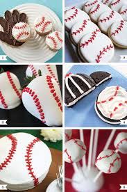 baseball party ideas baseball party desserts chickabug