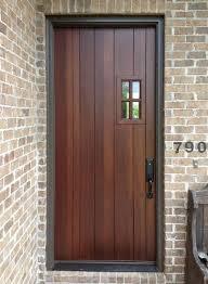 Wood Door Exterior Doors Decora Craftsman Collection Dd4234 Exterior Wood Doors