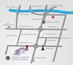 map to bangkok to salaya mapmahidol international college