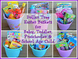 easter candy for toddlers dollar tree easter baskets the resourceful
