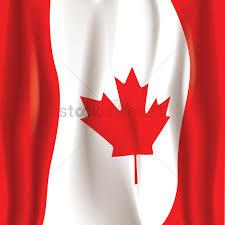 canada flag wallpaper design vector image 1974941 stockunlimited