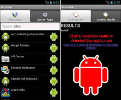 virus scan android scan android apps free with more than 40 antivirus