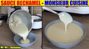 recettes cuisine plus sauce bechamel monsieur cuisine plus lidl silvercrest skmk 1200w