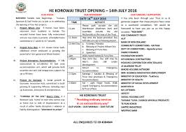 New Office Opening Invitation Card He Korowai Trust New Office Opening He Korowai Trust