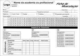 Super 10 Unid A5 Ficha De Treino Personalizado Musculação Academia - R  @QF48