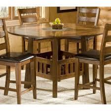 Drop Leaf Bistro Table Bernards 5330 New Castle Drop Leaf Pub Table With Tile Lazy Susan
