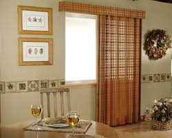 singular curtains for patio doors with blinds image concept best