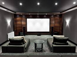 Home Theater Design Ideas Home Design Ideas - Living room with home theater design