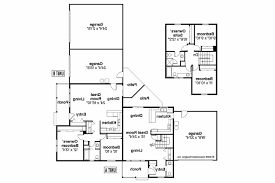 duplex floor plans for narrow lots lot narrow plan house designs craftsman plans