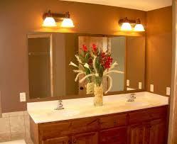 Bathroom Mirror Lighting Ideas Beautiful Classic Bathroom Design With Above Mirror Lamp