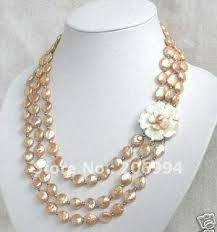 jewellery pearl necklace images Lowest rare huge 20mm south sea white shell pearl necklace pearl jpg