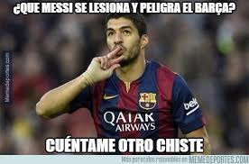 Memes Sobre Messi - memes de la lesión de lionel messi univision