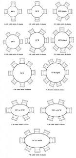 Dining Table Seating Capacities Chart By Size And Shape - Dining room table sizes
