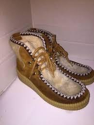 dunham s womens boots dunhams eskipades boots faux fur womens 8 ebay