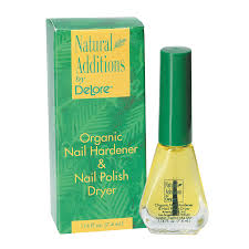 delore natural additions nail hardener u0026 dryer