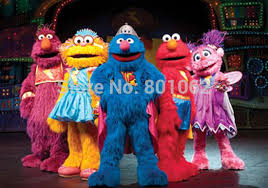 Sesame Street Halloween Costumes Adults Dress Toy Picture Detailed Picture Customized Sesame