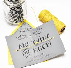 Free Save The Date Cards Tying The Knot Diy And Printable Smitten On Paper