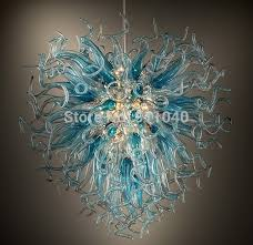 Blown Glass Chandeliers Sale Sale Chihuly Blown Glass Chandelier Led Light Source 110