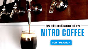Kegregator How To Setup A Kegerator To Serve Nitro Coffee Youtube