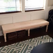 no sew tufted bench tutorial u2014 broad u0026 hill