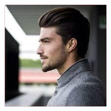 long haircut men or classy mens haircuts brushed back straight