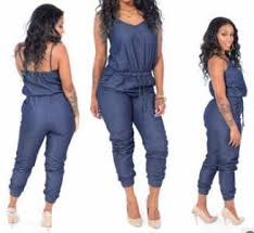 plus size white rompers and jumpsuits plus size denim rompers womens jumpsuit sleeveless spaghetti