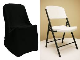 black chair covers lifetime folding chair cover black at cv linens cv linens