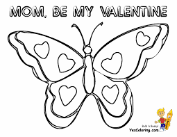 butterfly coloring pages painted lady sits on a flower pictures of