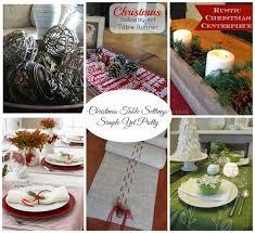 renovating519 christmas table settings simple yet pretty