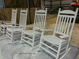 tips for painting rocking chairs