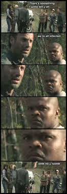 T Dogg Walking Dead Meme - the walking dead t dog ain t amused by spiritrising7 deviantart com