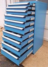 metal parts cabinet drawers rousseau 10 drawer blue modular parts cabinet new welter storage